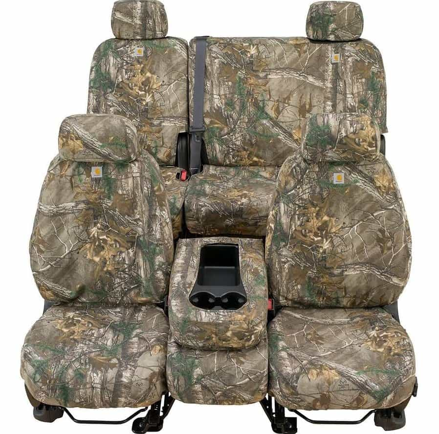 Car Brands Starting With F >> 2016-2017 Toyota Tacoma Covercraft Carhartt RealTree Camo Seat Covers - SouthernCarParts.com