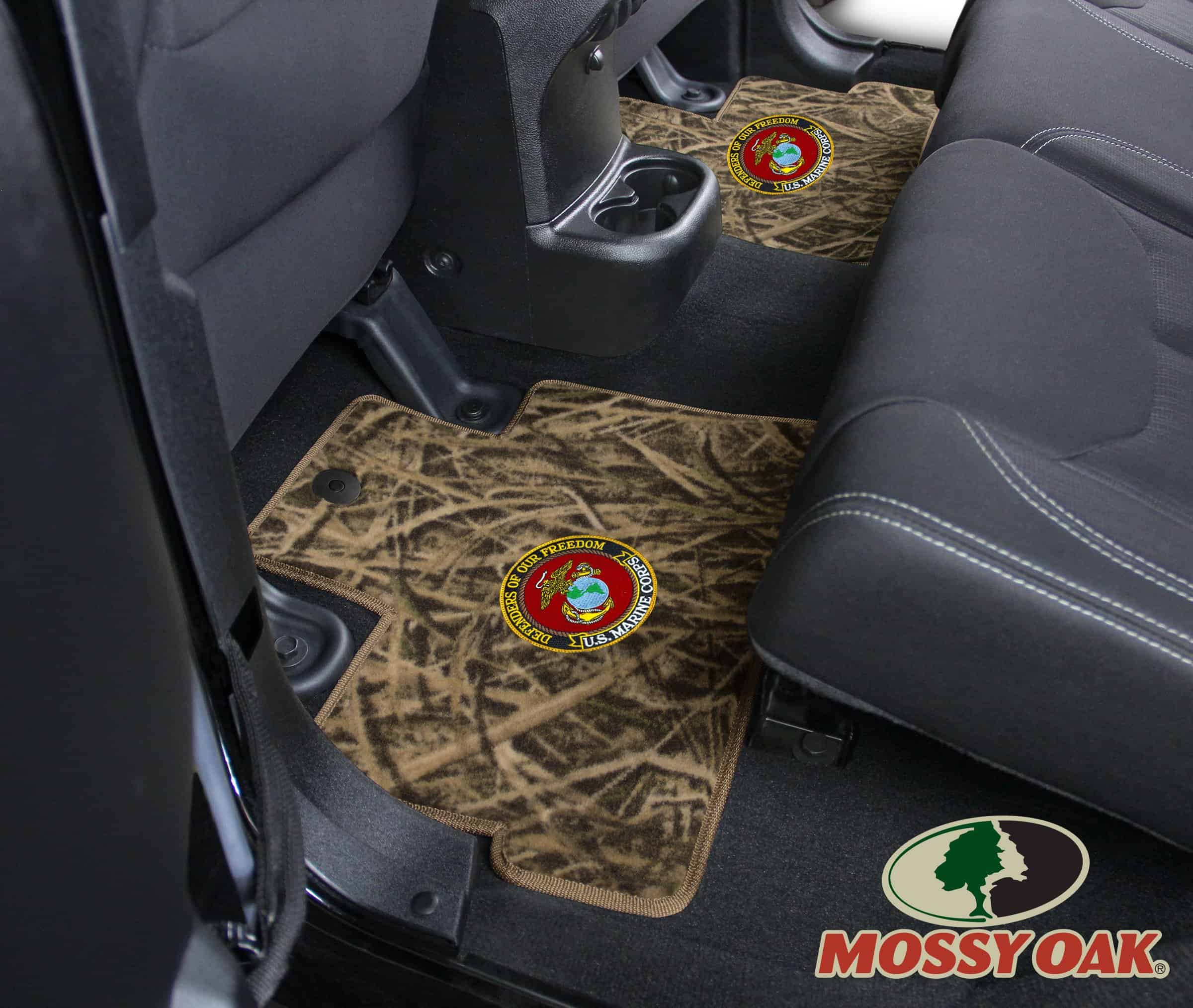 camo f duck covers pin row ford floors realtree mats max floor seat front
