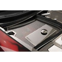 C5 Corvette Perforated Stainless Battery Fuse Box Cover