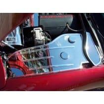 C5 Corvette Polished Inner Fender Covers Set