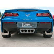 C7 Corvette Perforated Exhaust Filler Panel for Stock