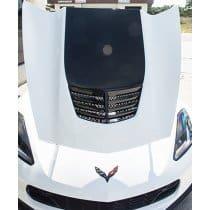 2014-2019 C7 Corvette Expanded Diamond Pattern Hood Vent Grille