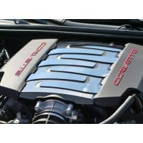 C7 Corvette Stainless Steel Plenum Cover Overlays