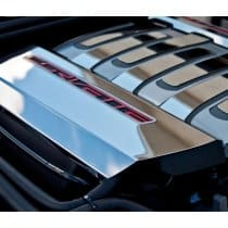 C7 Corvette Fuel Rail Covers - Stainless Steel