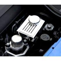 C7 2014-2018 Corvette Polished Stainless Brake Reservoir Cover