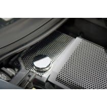 C7 2014-2018 Corvette Brushed Perforated Coolant Surge Tank Cover