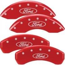2005-2007 F250/F350 Super Duty Red Caliper Covers