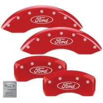 2010-2013 Ford Taurus SE, SEL, LIM Red Caliper Covers