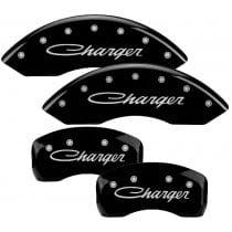 2005-2010 Dodge CHARGER (CURSIVE) 2.7L, 3.5L V6 Black Caliper Co