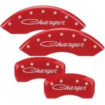 2005-2010 Dodge CHARGER (CURSIVE) 2.7L, 3.5L V6 Red Caliper Cove