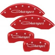 2011-2013 Dodge CHARGER in cursive (3.6L,V6) Red Caliper Covers
