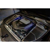 2006-2015 Cadillac CTS-V Carbon Fiber Radiator Cover w/Trim