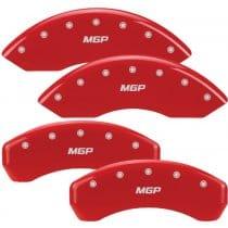 Pontiac Red Caliper Covers