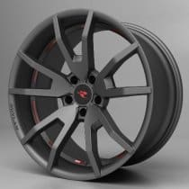 2015-2019 Ford Mustang Outlaw Wheels - Gunsmoke
