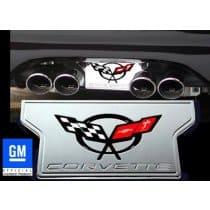 C5 Corvette Billet Exhaust Enhancer Plate
