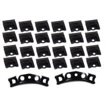 Our C2 1964-1967 Corvette Windshield Moulding Clip Set Coupe 26 Piece, includes the corner clips and all other clips to easily install your windshield molding.