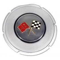 C2 1964 Corvette Gas Lid Emblem