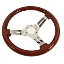 1968-1982 C3 Corvette Steering Wheel Mahogany