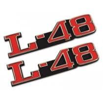 1973-1979 C3 Corvette L-48 Hood Emblem Premium