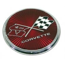 C3 1975-1976 Corvette Fuel Door Emblem