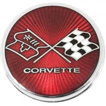 C3 1975-1976 Corvette Gas Fuel Door Emblem