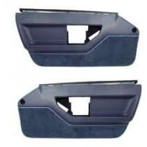 C4 1984-1985 Corvette Standard Door Panel Pair Blue