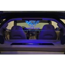 1997-2004 C5 Corvette WindRestrictor Glow Panel for Coupe