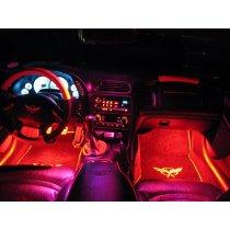 1997-2005 C5 Corvette Footwell LED Lighting