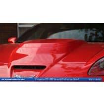 C6 C6 Corvette  L88 Hood L88 Smooth Hood (No Center Window)