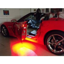 2005-2013 C6 Corvette LED Door Handle and Footwell Combo Kit