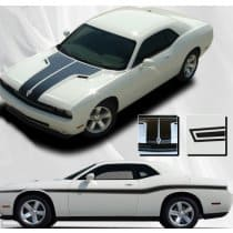 Dodge Challenger Hood / Beltline Stripe Kit