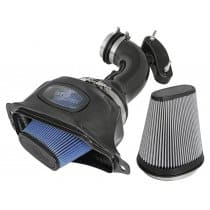C7 Corvette aFe POWER Momentum Cold Air Intake System Carbon Fiber 52-74201-C
