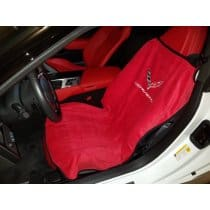2014-2018 C7 Corvette Seat Armour Adrenalin Red Seat Towels