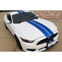 2015-2017 Mustang Narrow Twin Full-Length Stripes Kit