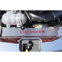 2015-2017 Mustang Radiator Cover Plate With Logo And Coyote Lettering