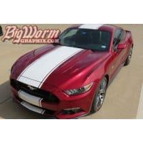 2015-2017 Mustang Wide Supersnake Style Full-Length Stripe