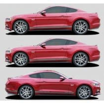 2015-2017 Ford Mustang Stallion Rocker Stripe Kit