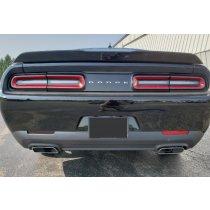 2015-2018 Dodge Challenger Vinyl Side Marker And Rear Bumper Reflectors Blackout Kit