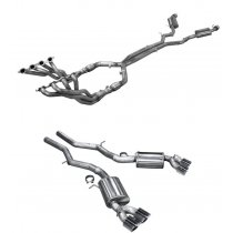 2016-2018 Camaro SS American Racing Headers Full System With Quad Tips