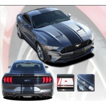 2018-2019 Mustang GT/Ecoboost Euro XL Rally Stripe Kit EE5444