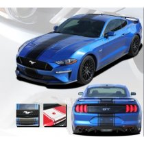 2018-2019 Mustang GT/Ecoboost Hyper Rally Stripe Kit EE5434