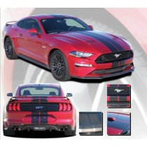 2018-2019 Mustang GT/Ecoboost Stage Rally Stripe Kit