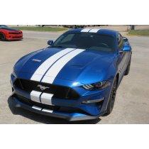 2018-2019 Mustang Narrow Twin Full Length Stripes Kit