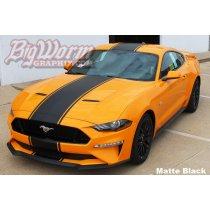 2018 Mustang Wide Supersnake Style Full-Length Stripe