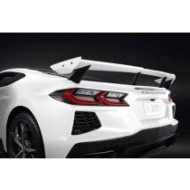 C8 Corvette Next Generation Carbon Flash T-Shirt X-Large, White