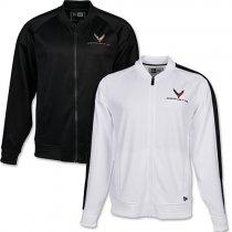 C7 Corvette Shelter Fleece Jacket Medium Graphite//Black