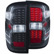 2014-2015 Chevrolet Silverado 1500-3500  L.E.D. Tail Lights Black