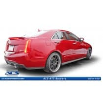 Cadillac ATS Side Skirts Rockers by ACS