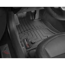 C7 Corvette WeatherTech Floor Liners - Black