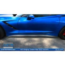 C7 Corvette ACS Carbon Fiber Side Skirts